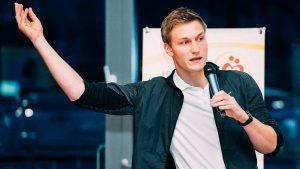 Thomas Röhler talking about details in Jena