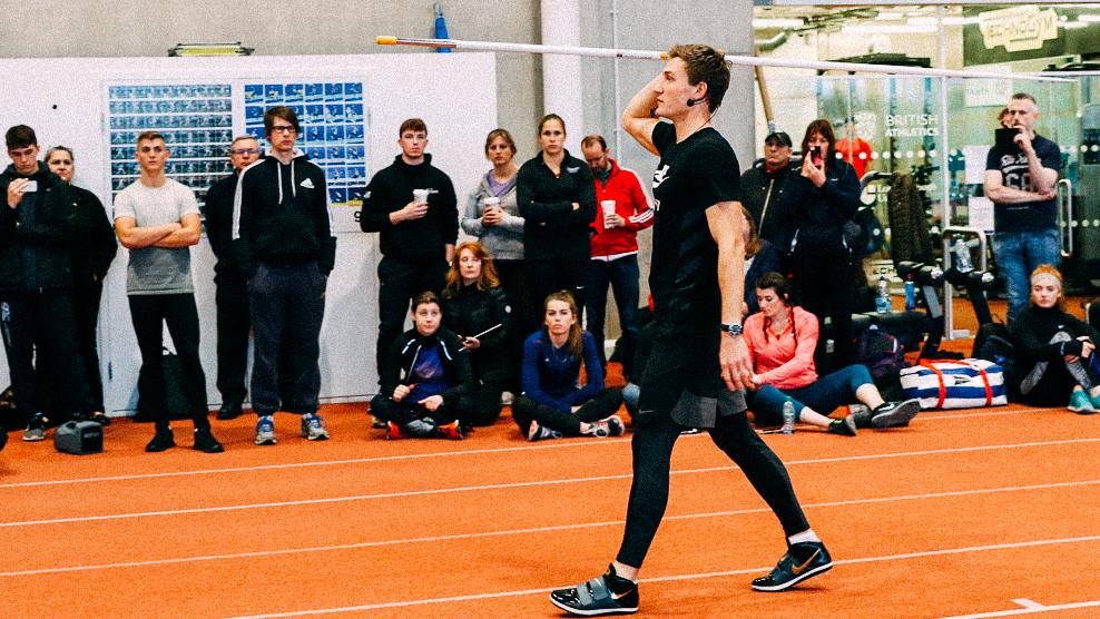 Speerwurf Coaching und Seminar durch Thomas Röhler Javelin presentation and javelin coaching