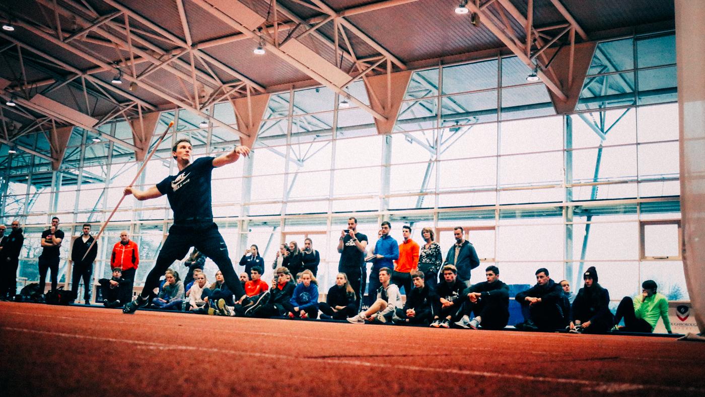 Javelin Masterclasses Loughborough 2017