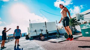Thomas Röhler - CrossFit Workout - javelin camp Lanzarote