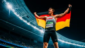 Thomas Röhler Speerwurf Olympiasieger 2016 Foto von Sacha Fromm Javelin olympic champion