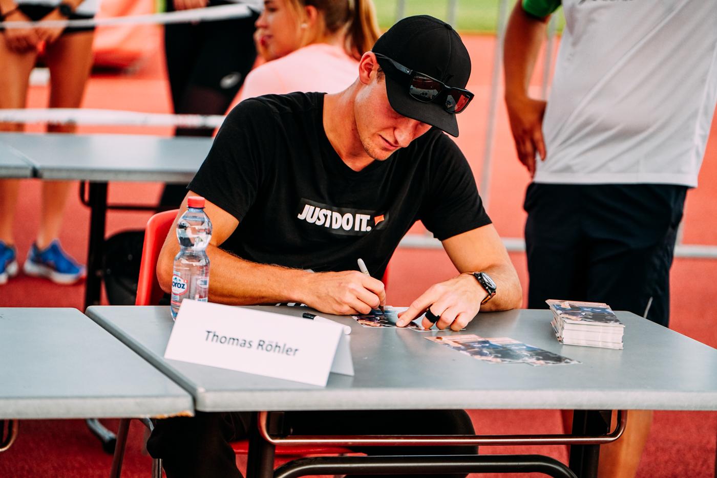 Thomas Röhler Autogrammstunde