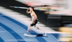 Thomas Röhler javelin running