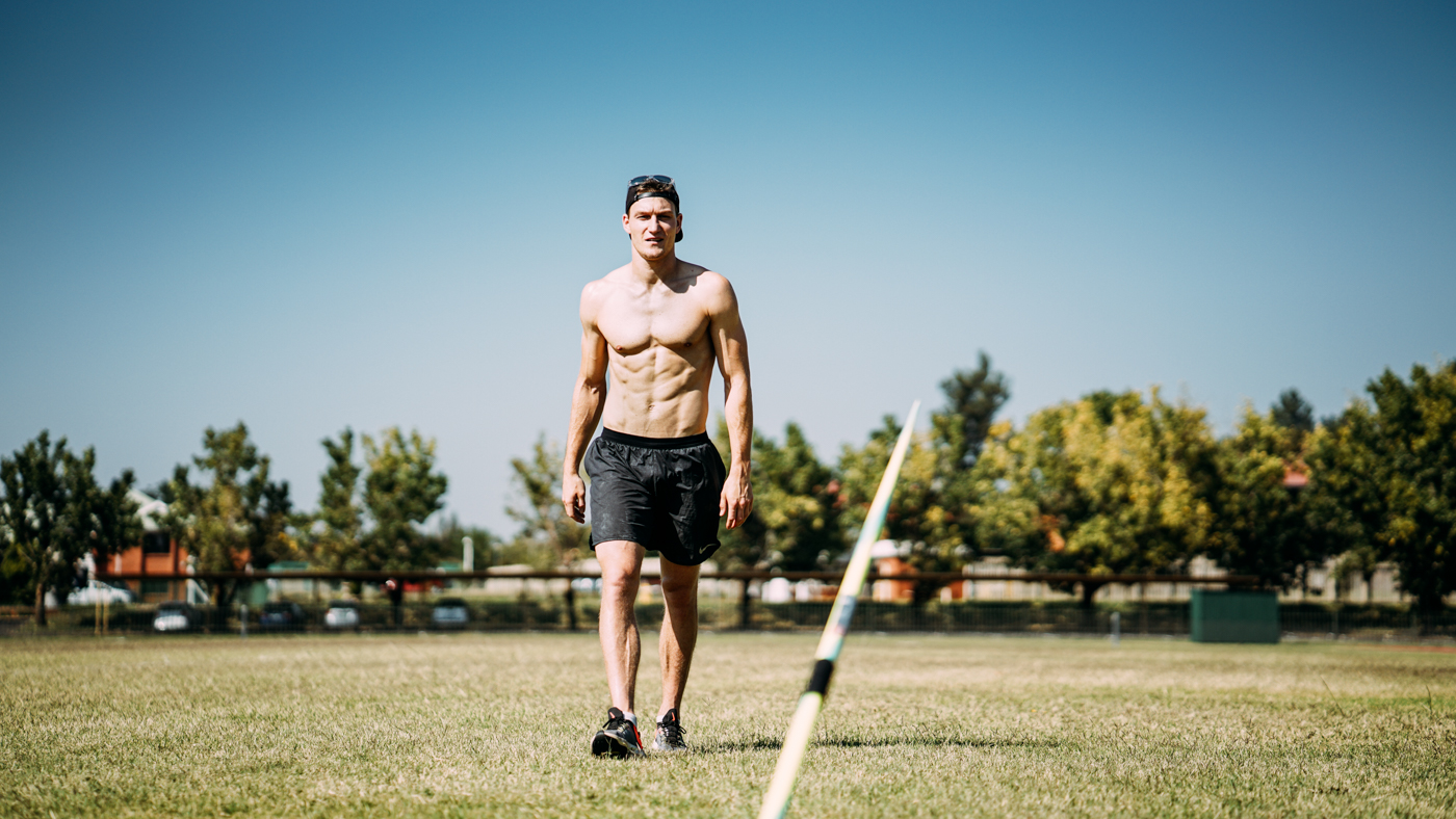 Thomas Röhler - Javelin thrower training Potchefstroom 2019