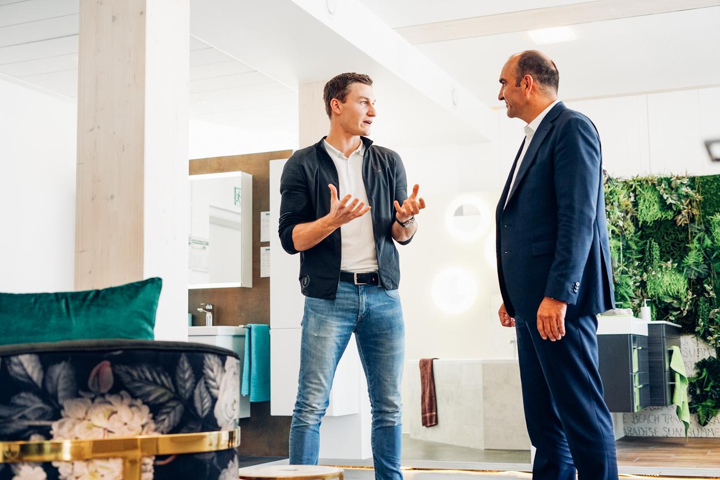 Thomas Röhler im Gespräch mit Josef Haas